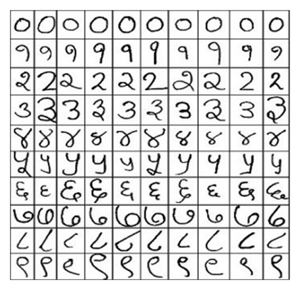 (a) Valid numeral database