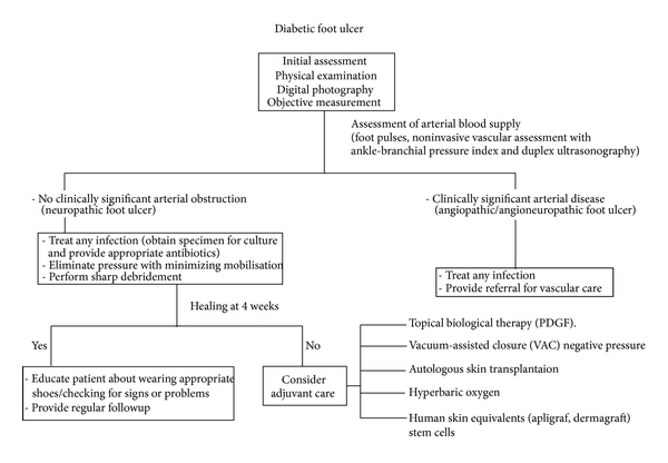 Current Aspects In The Pathophysiology And Treatment Of Chronic Wounds In Diabetes Mellitus