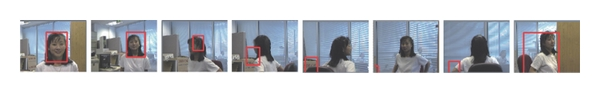 (a) Only consider the color feature tracking algorithm results