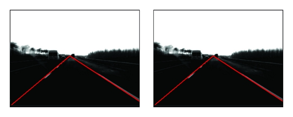 (a) Detection result under normal environments