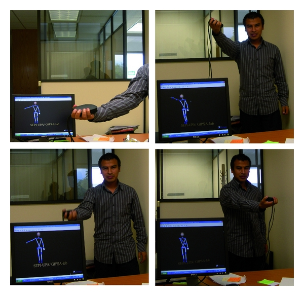 (a) Anatomical movements of the shoulder: Real-time estimation