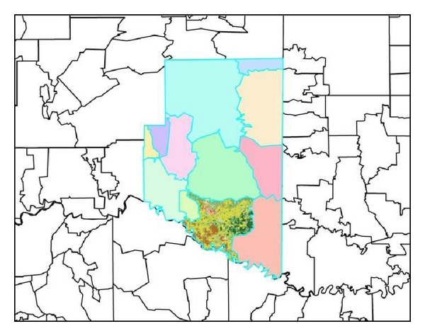 (c)   Land cover for 5-digit ZCTA boundary
