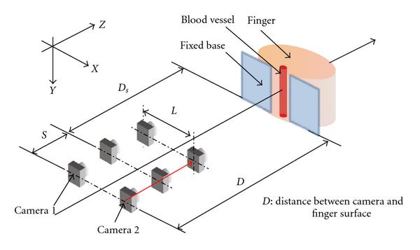 (a) Schematic diagram of movement of the cameras in our system