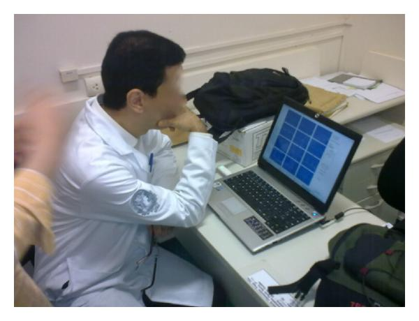 (d) Cardiologist endpoint receiving a request for teleconsultation.