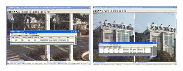 (a) Survey result of coordinate