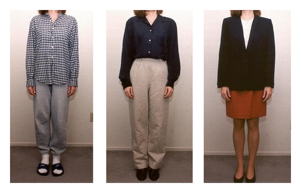 (b) Female clothing selected from pilot test