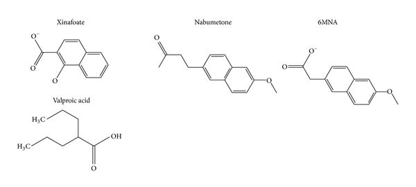 (d) Chemical structure of other molecules