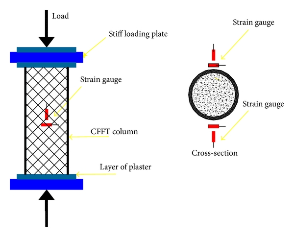 (a)  Schematic of the test setup
