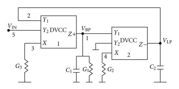 (a) Circuit A-1 using two DVCC