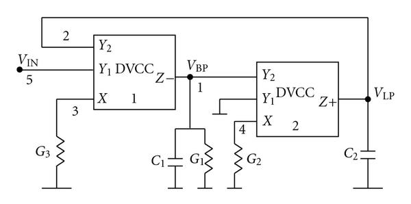 (d) Circuit A-4 using two DVCC