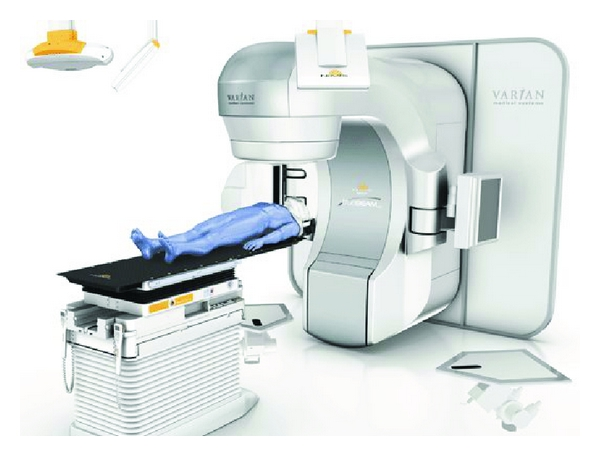 (b) Novalis with TrueBeam STx by BrainLab Inc. and Varian Medical Systems