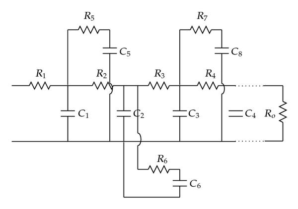 (c) Equivalent circuit of a fractal branch