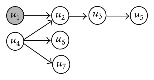 (a) An example of directed network