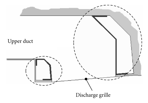 (a) Discharge air grille (DAG)