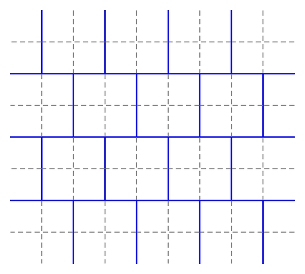 (a) Coarse structured grid commonly used in diffusion codes such as in [9]. Each lattice cell is divided into a 2    2 grid for solving the neutron diffusion equation