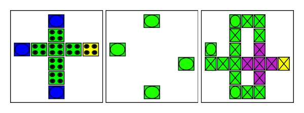 (b) Three different layers of proposed 1-bit full adder