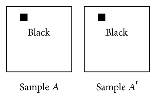 (a) Case 1: black and black