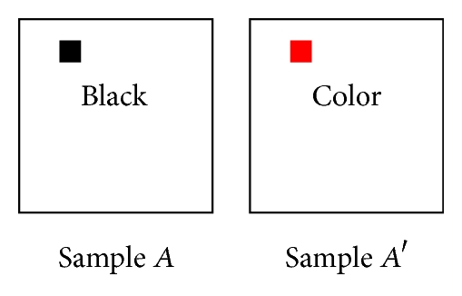 (b) Case 2: black and color