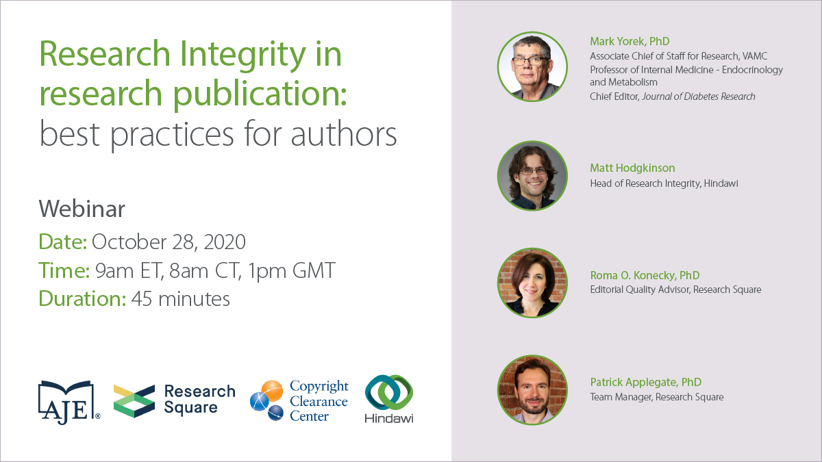 Research Integrity in research publication