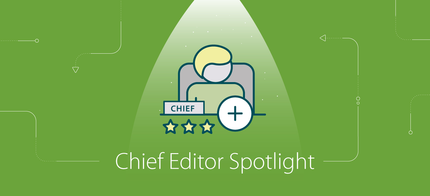 Chief Editor Spotlight: Meet Agrawal Anshu