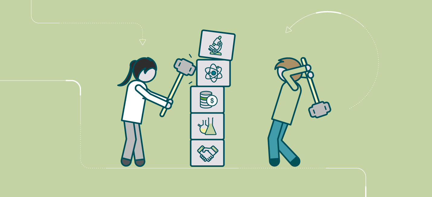 Breaking down walls between science engagement and business