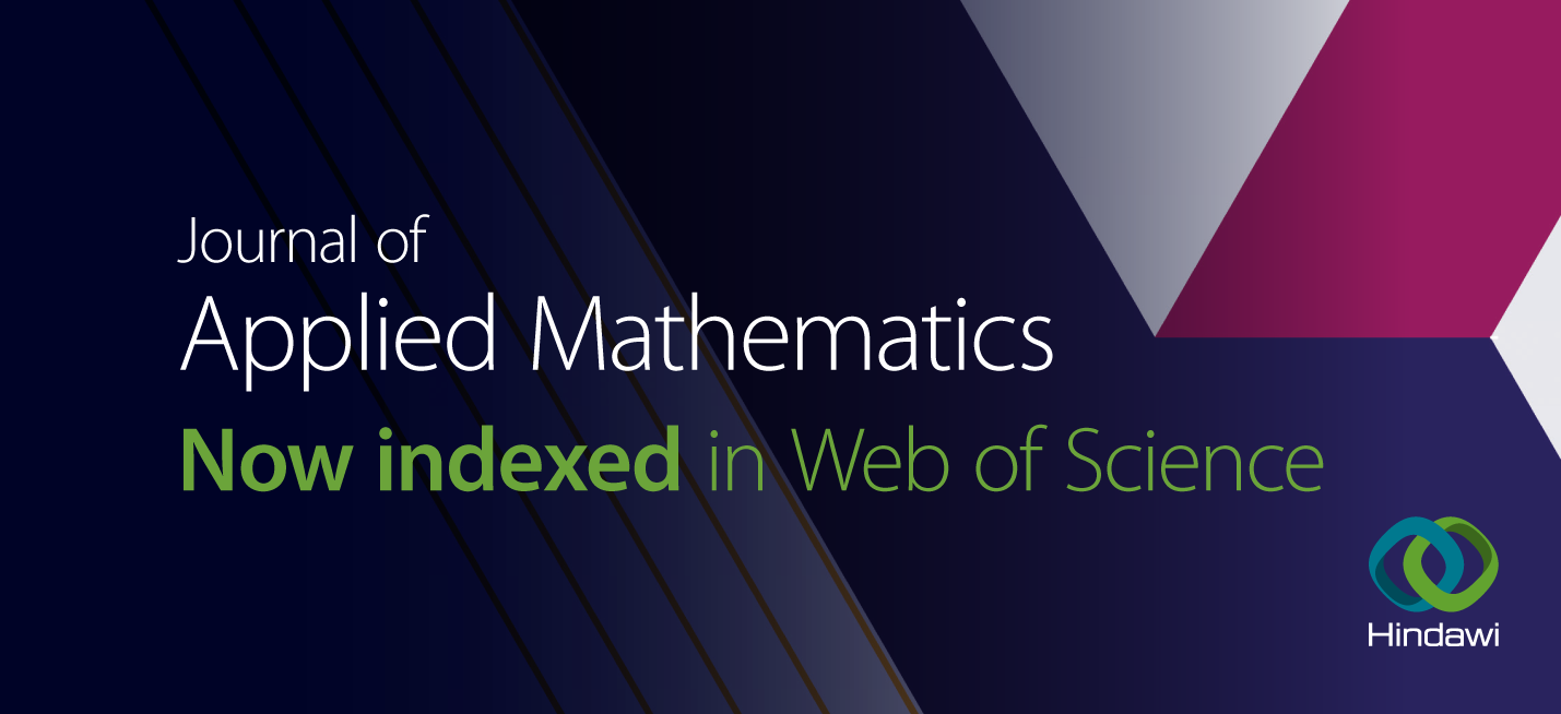 Journal of Applied Mathematics indexed in Web of Science's ESCI